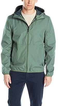 Perry Ellis Men's Hooded Packable Vented Jacket