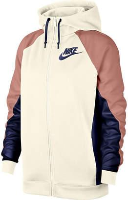 Nike Women's Colorblock Hooded Track Jacket