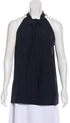 Lareida Silk Pleated Top