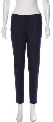 Akris Straight-Leg Mid-Rise Jeans