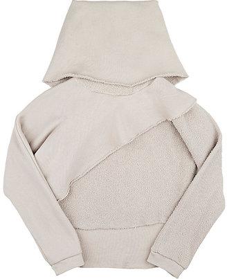 Mimobee Cotton Layered Sweatshirt $94 thestylecure.com