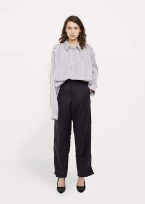 Vetements X Brioni Cropped Tailored Pant Navy