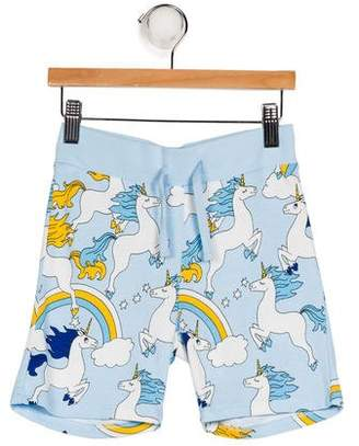 Mini Rodini Boys' Printed Pajama Shorts