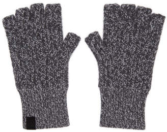 Rag & Bone Grey Cashmere Ace Mitts