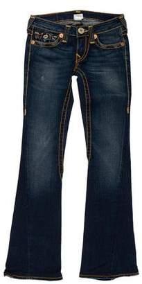 True Religion Low-Rise Jeans