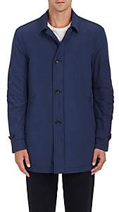 Barneys New York MEN'S TECH-TAFFETA JACKET-NAVY SIZE 42