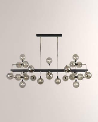 Tech Lighting Viaggio 25-Light Linear Suspension Chandelier