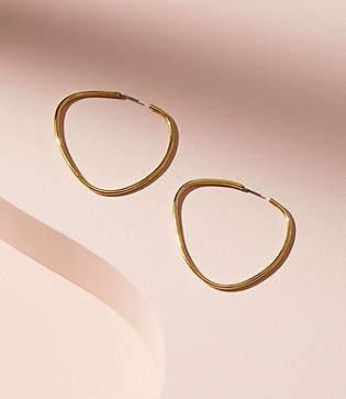 Lou & Grey Soko Maxi Sabi Hoop Earrings
