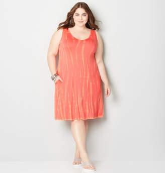 Avenue Tie Dye A-Line Dress