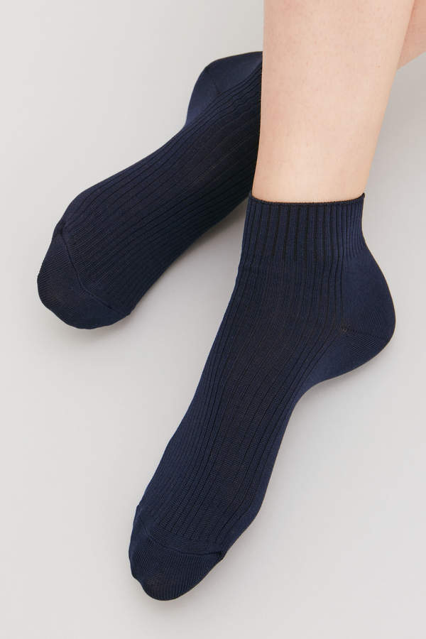 RIBBED LOW ANKLE SOCKS