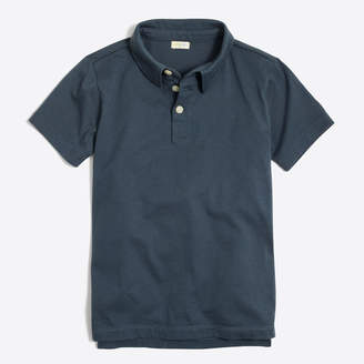 J.Crew Factory Boys' jersey polo shirt