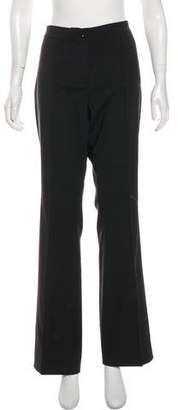 Burberry Wool-Blend Mid-Rise Wide-Leg Pants w/ Tags