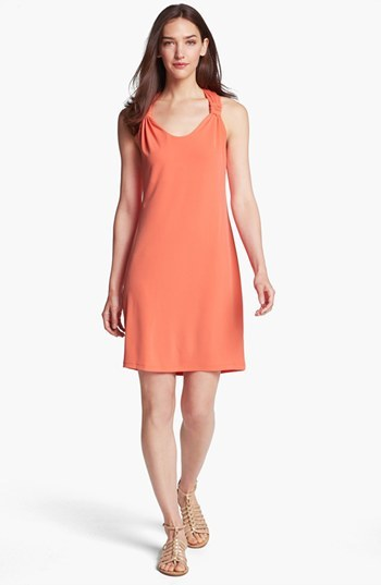 Ivy & Blu for Maggy Boutique Racerback Jersey Tank Dress