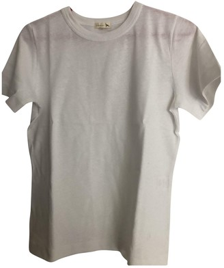 soeur White Cotton Top for Women