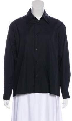 eskandar Collared Button-Up Top w/ Tags