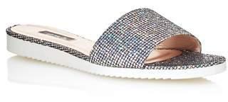 Sarah Jessica Parker Women's Tropez Glitter Slide Sandals - 100% Exclusive