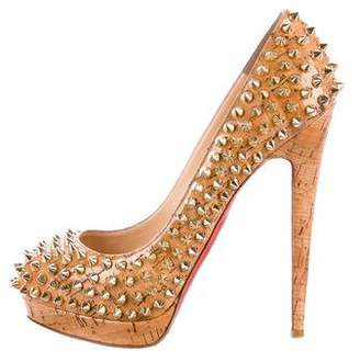 Christian Louboutin Cork Alti Spikes 160 Pumps