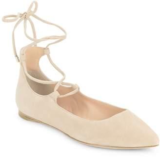 Sigerson Morrison Women's Lace-Up Ballet Flats