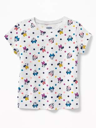 Old Navy Disney© Minnie Mouse Print Tee for Toddler Girls