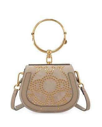 Chloé Nile Small Studded Bracelet Bag