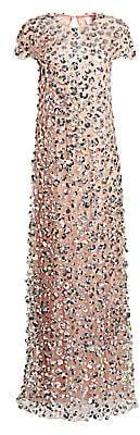 Carolina Herrera Women's Embellished Column Gown