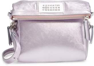 Maison Margiela 5AC Metallic Leather Camera Bag