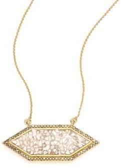 Black Diamond Charushila Shashi Pendant Necklace