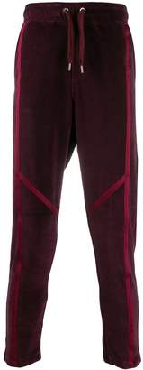 Just Cavalli panelled logo patch track pants