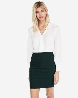 Express High Waisted Seamed Pencil Skirt
