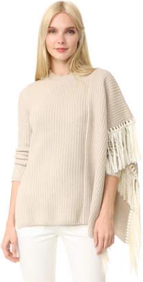 Edun Fringe Oversized Sweater