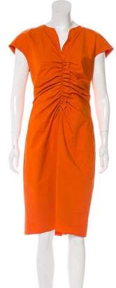 Paule Ka Sleeveless Midi Dress