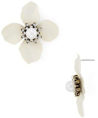 Aqua Flower Petal Earrings - 100% Exclusive
