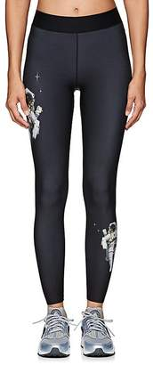 Ultracor Women's Crystal-Star Astronaut-Print Sprinter Leggings