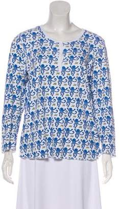Roberta Roller Rabbit Printed Long Sleeve Top
