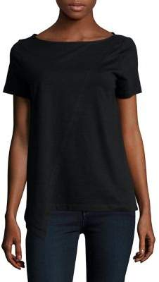 Lord & Taylor Classic Short-Sleeve Cotton Tee
