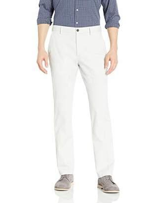 Amazon Essentials Men's Standard Straight-Fit Wrinkle-Resistant Flat-Front Chino Pant, Khaki, 35W x 30L
