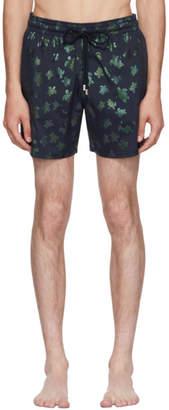 Vilebrequin Navy Moorise Mordore Superflex Swim Shorts