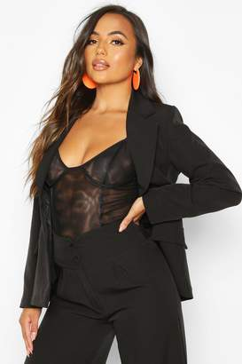 boohoo Petite Single Breasted Blazer