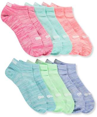 Puma Girls' 6-Pack Low-Cut Socks