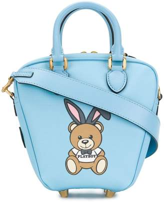 Moschino Playboy teddy tote bag