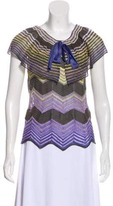 Missoni Printed Short sleeve Top