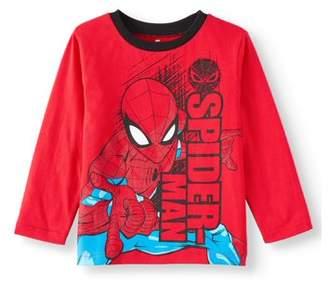 Spiderman Spider Man Marvel Long Sleeve T-Shirt (Little Boys)