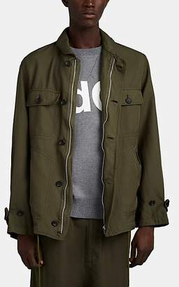 Comme des Garcons Homme Men's Garment-Dyed Deck Jacket - Green