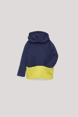 Cos COLOUR-BLOCK JERSEY HOODIE