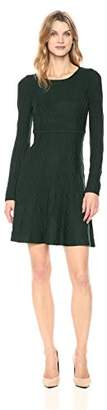 Jessica Howard Women's Pintuck Fit and Flare Dress