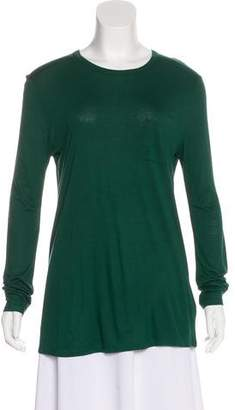 Alexander Wang Long Sleeve Knit Top