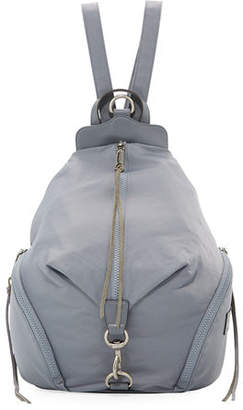 Rebecca Minkoff Washed Nylon Multi-Zip Backpack