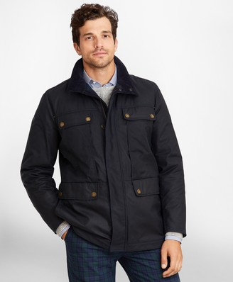 Brooks Brothers Waxed Cotton Field Jacket