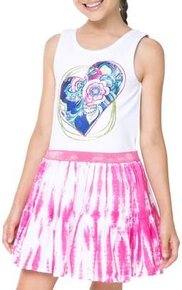 Desigual Heart Rose Dress