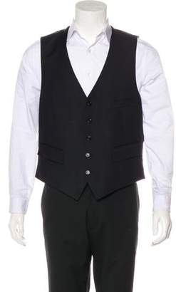 Saint Laurent Wool Suit Vest